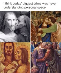 "33 Classical Art Memes To Pump Your Puny Brain Full Of Culture - Funny memes that ""GET IT"" and want you to too. Get the latest funniest memes and keep up what is going on in the meme-o-sphere. Funny Pictures With Captions, Best Funny Pictures, Funny Photos, Random Pictures, Classical Art Memes, Humor Cristiano, Memes Humor, Funny Memes, Dad Humor"