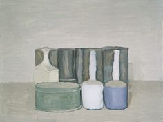 Morandi  Still Life 1954 oil on canvas