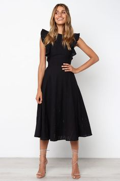 18b68ef20c0 Hart Dress - Black - Petal   Pup Black Off Shoulder