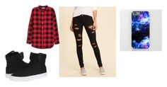 """cap2"" by myllenac-s on Polyvore featuring moda, Hollister Co. e Supra"