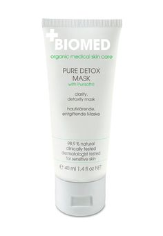 DETOX Mask Biomed organic medical skin care