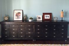 MY Ultimate DIY: IKEA Shelves turned Apothecary-style Dresser