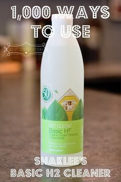 There are a TON of ways to use Shaklee's cleaner!  It's not just for windows!!  Retail Price $12.15; Member Price $10.35