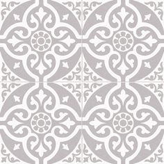 Victorian Style Grey Floor Tile - Victorian Style Grey Floor Tile, Huge Savings On Victorian Patterned Floor Tiles - Tiled Hallway, Hallway Flooring, Grey Flooring, Kitchen Flooring, Hall Tiles, Porch Flooring, Flooring Ideas, Grey Kitchen Tiles, Garage Flooring