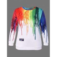 SHARE & Get it FREE | Plus Size 3D Paint Print SweatshirtFor Fashion Lovers only:80,000+ Items·FREE SHIPPING Join Dresslily: Get YOUR $50 NOW!