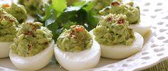 Guacamole Deviled Eggs by Skinnytaste