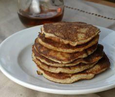 Keto fluffy pancake breakfast recipe.