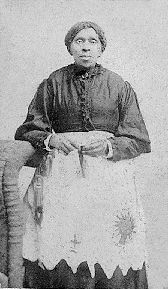 Harriet Powers was an African American slave, folk artist and quiltmaker from rural Georgia.   Her quilts are considered among the finest examples of 19th century Southern quilting.