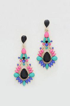 Bea Earrings in Siren on Emma Stine Limited