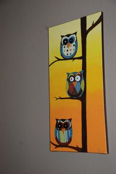 patterned owls