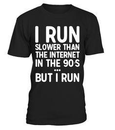 I RUN SLOWER  #yoga #idea #shirt #tzl #gift #gym #fitness