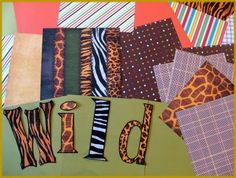 "Create letters for your bulletin board using 8 1/2 x 11 inch scrapbook paper that is placed on the landscape setting in Microsoft Publisher. You can use Word Art to make fancy letters, or use the fonts available in the program. I print them as ""outline with no fill color"" and feed the scrapbook paper through my printer. (Classroom Scissors)"