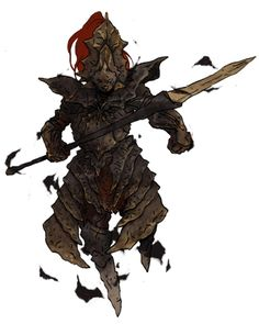 …again a lonely, old warrior waiting for us in the blue cathedral. I don't know what it feels to fight him if you discover the souls with dark souls II, but when you first did dark souls, and fought Ornstein & Smough, it changes it all. Of course...