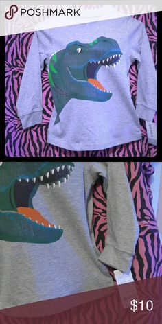 Dinosaur boys t-shirt New Boys t-shirt  Size 3T  Long sleeve shirt Carter's Shirts & Tops Tees - Long Sleeve