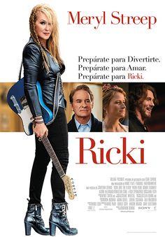 Ricki (Speak Up) / dirigida por Jonathan Demme. La película cuenta la vida de Ricki Rendazzo, una heroína de la guitarra que cometió innumerables errores al perseguir su sueño de alcanzar el estrellato en el rock-and-roll. Al volver a casa, Ricki consigue un atisbo de redención y la oportunidad de hacer bien las cosas con su familia a través de la música.