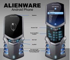 Alienware Android Phone Concept - the only way I would give up Apple phones