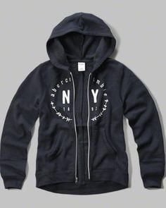 applique logo graphic hoodie
