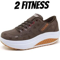 2 Fitness Women s Sports Shoes Leather-Running Shoes ceb820786a7