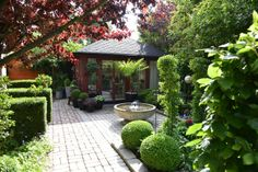 Private Swedish garden, photographed by Claus Dalby, Danish garden designer and writer.