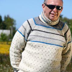 Gratis strikkeoppskrift på herregenser, Terjegenseren