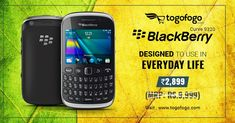 Get #CetifiedRefurbished #Blackberry Curve 9320 is the most affordable smartphone designed to use in everyday life. Buy Now at Just Rs. 2899 -https://bit.ly/2Jin5NR   #LowestPrice #Togofogo