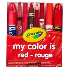 Crayola® My Color Is Drawing Tool Set - Red