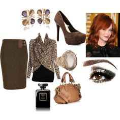 """""""I don't do leapord but I love this look!"""" by haydeeblevins on Polyvore"""