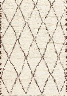 Vintage Moroccan Berber Shag Rug 47946