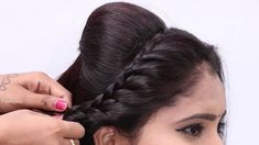 Easy Braided Hairstyles for Party/wedding | Side braid hairstyles | Hair... Trending Hairstyles, Latest Hairstyles, Side Braid Wedding, Side Braid Hairstyles, Hot Hair Styles, Haircut And Color, Party Wedding, Hair Trends, New Hair