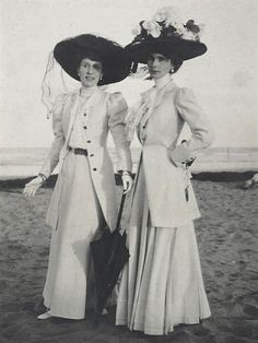 1900s early, Summer whites