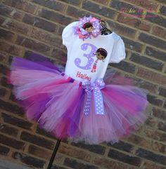 Doc McStuffins party outfit... So cute!
