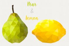 Geometric fruit set What's in the package: - Geometric fruit set - eps, jpg and png with transparent background; --- Each fruit is stored in an individual file. Fruit Icons, Fruits Drawing, Photoshop Illustrator, First Contact, Photoshop Elements, Say Hi, Textured Background, Objects, Drawings