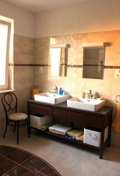 Asztalos: Olasz stílusú fürdőszoba szekrény