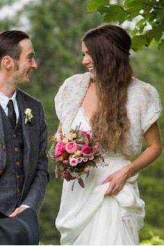 The natural bride. Gorgeous Barbara wearing Evie Rose in blush. The Brambles, Evie, Faux Fur, Brides, Blush, Natural, How To Wear, Fashion, Moda