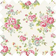This delicate trailing floral Spray Flowers print has become a firm Cath Kidston favourite. Vintage inspired, this versatile print will add a feminine touch to your home. This fabric is ideal for use as: *Curtains *Cushion Covers *Craft *Upholstery
