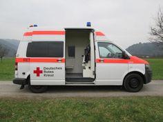 VW T5 RETTUNGSWAGEN KTW STROBEL Klima eFH PDC, Kommunal/Sonderfahrzeug Feuerwehr/Rettung in Gengenbach, gebraucht kaufen bei AutoScout24 Trucks