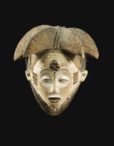 Punu mask - RAND AFRICAN ART