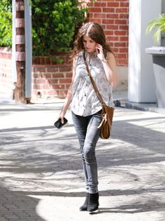 Anna Kendrick Heads to an Office