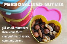 Personalized Nutmix, great and healthy snacks!