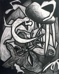 Hey, I found this really awesome Etsy listing at https://www.etsy.com/listing/105646571/lizard-abstract-charcoal-drawing