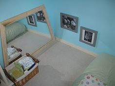 How to prepare a Montessori baby room, Photo from A Montessori Musing Place