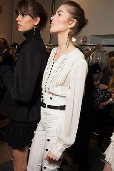Isabel Marant - Backstage | Galería de fotos 53 de 84 | GLAMOUR
