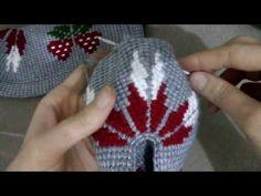 Çilekli Tunus İşi Patik Modeli Yapılışı 1.Bölüm - YouTube