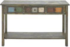 """UMA Inc Wd Console Table 48""""W, 32""""H"""