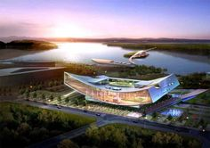 The branch library of the National Library of Korea and the first of its regional library will be built in the Sejong City. The 'E-BRARY', a compound word