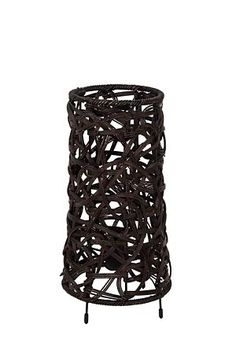 """Our spaghetti weave lamp is woven with natural fabrics, the spaghetti weave creates subtle shadows to complement a lounge setting. Measures 33cm in height.<BR><BR>Mr Price Home is NRCS (SABS) compliant.<BR><div class=""""pdpDescContent""""><BR /><b class=""""pdpDesc"""">Dimensions:</b><BR />L16.5xW16.5xH29 cm</div> Mr Price Home, Weave, Spaghetti, Shadows, Fabrics, Lounge, Bedroom, Home Decor, Natural"""