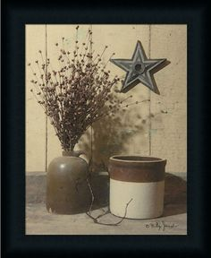 Crocks and Star by Billy Jacobs - Art Print Framed & Unframed at www.framedartbytilliams.com