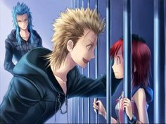 """Is it weird that I find this cute? Even though Kairi's expression screams """"Somebody save me!"""""""