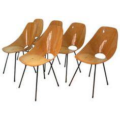"""Vittorio Nobili Chairs """"Medea"""""""