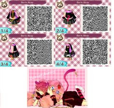 re: The QR Code Database - Page 11 - Name of Design: Boris Airay Category: Clothing/Dress Theme: Boris Airay - Heart No Kuni No Alice Description (Optional): The cheshire cat from the anime Heart No Kuni No Alice or Alice In The Country Of Hearts. My first design out of many so hope you guys enjoy ^^